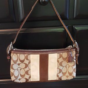Coach over the shoulder small purse